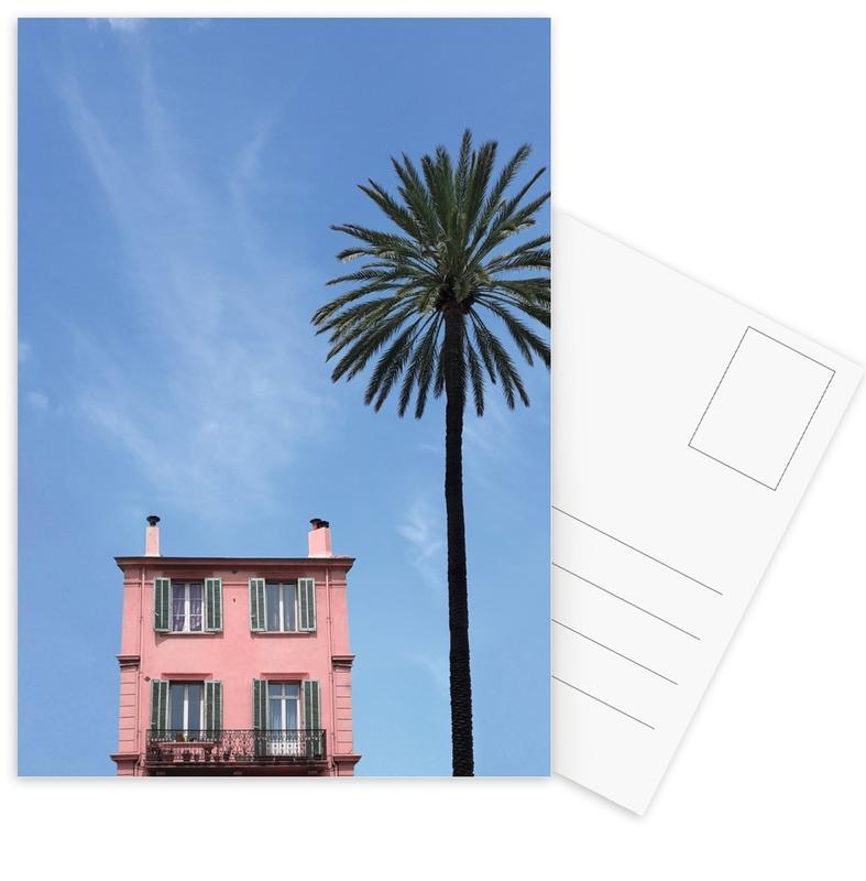 Architectonische details, Palmbomen, Beach House ansichtkaartenset