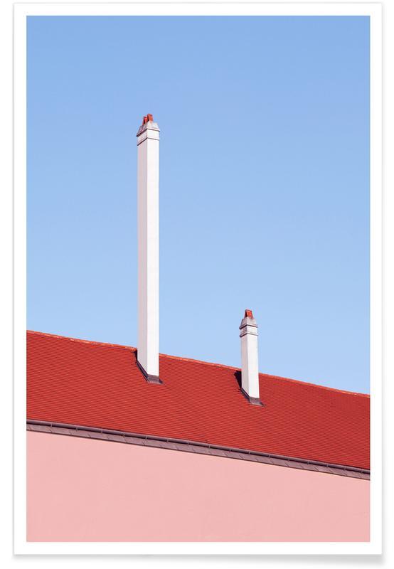 Trombone Roof Poster
