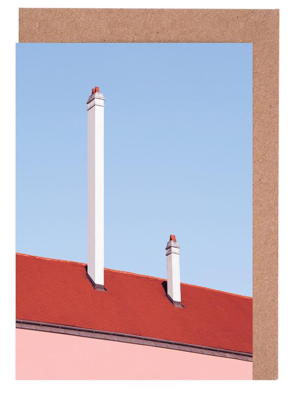 Architekturdetails, Trombone Roof -Grußkarten-Set