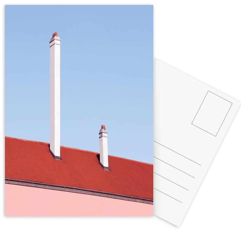 Architekturdetails, Trombone Roof -Postkartenset
