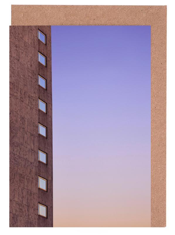 Architekturdetails, Color Palette -Grußkarten-Set