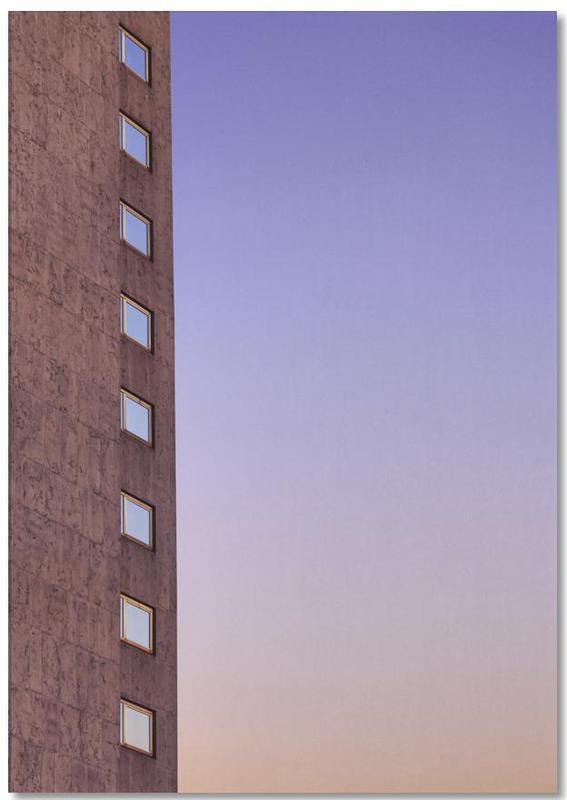 Architekturdetails, Color Palette -Notizblock