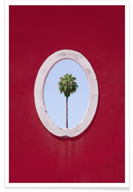 Palmen, Palm Tree Portrait -Poster