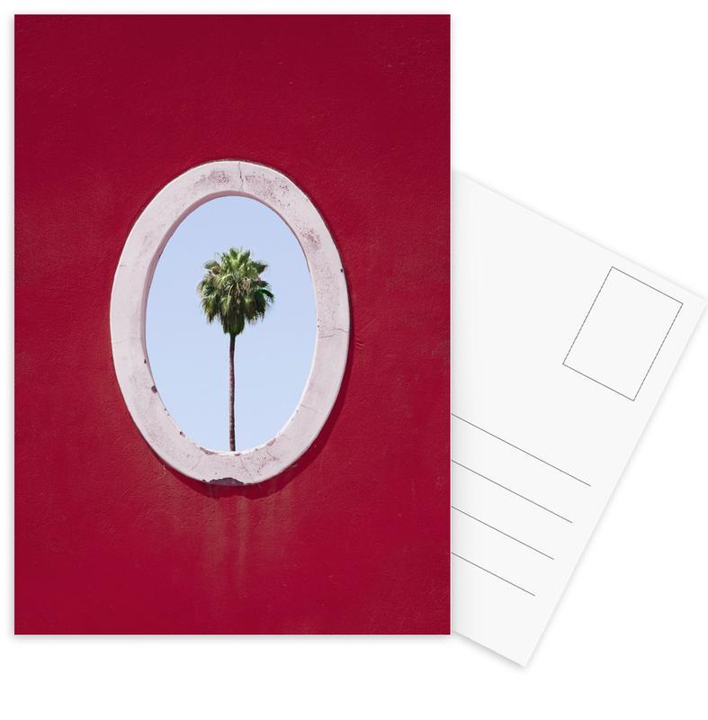 Palmen, Palm Tree Portrait -Postkartenset