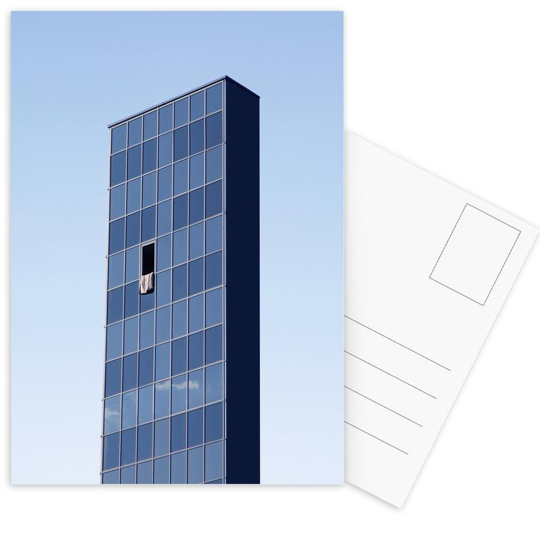 Wolkenkratzer & Hochhäuser, Tongue Out -Postkartenset