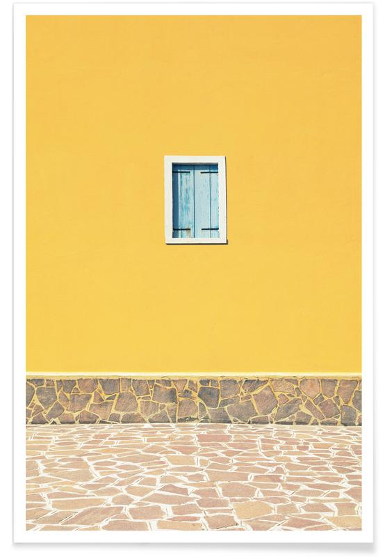 , Yellow affiche