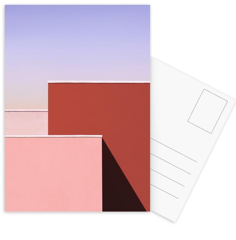 , Trio -Postkartenset