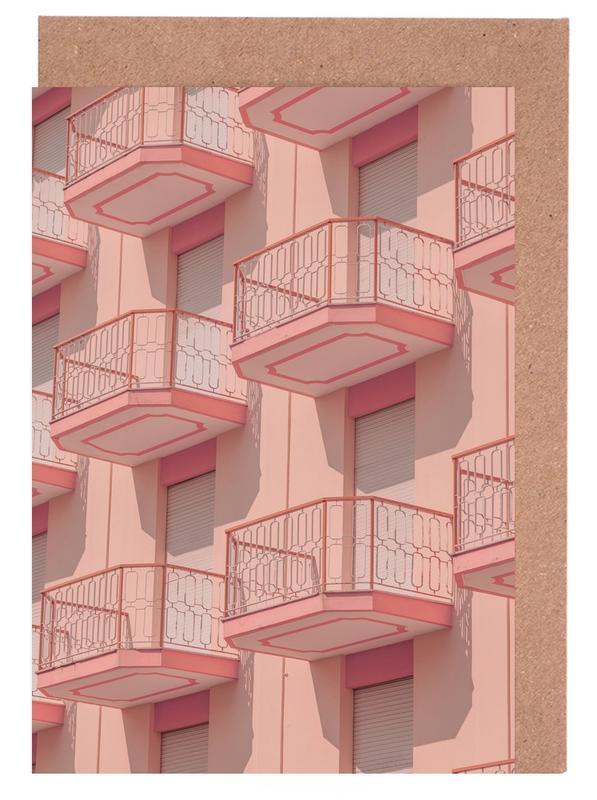 , Balconies -Grußkarten-Set