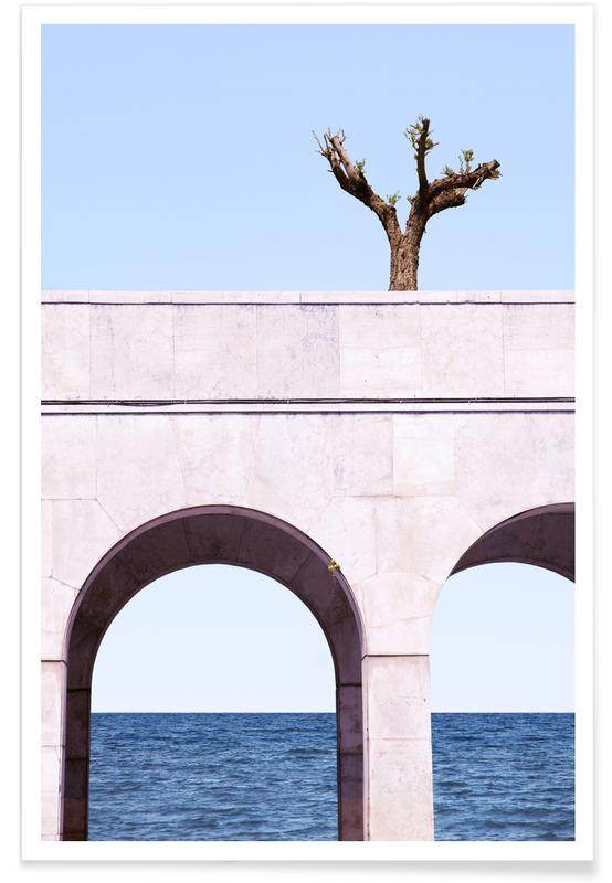 , A Tree Above The Sea -Poster