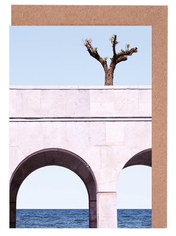 , A Tree Above The Sea -Grußkarten-Set