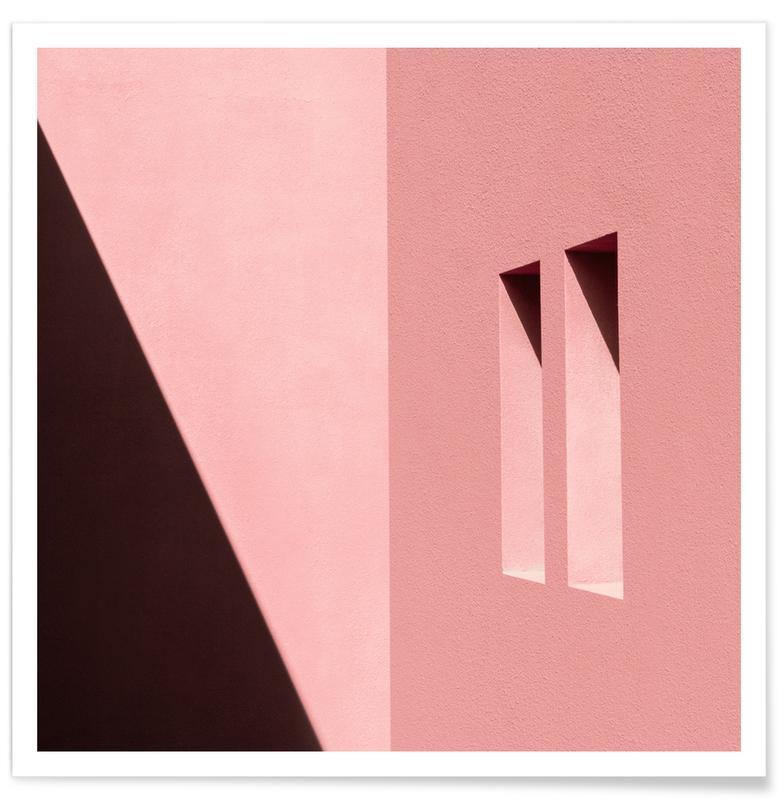 Architekturdetails, Abstrakte Landschaften, Windows And Shadows -Poster