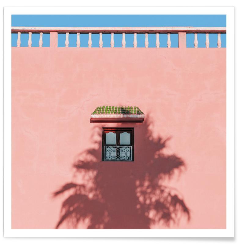 Architekturdetails, Abstrakte Landschaften, Sunblocker -Poster