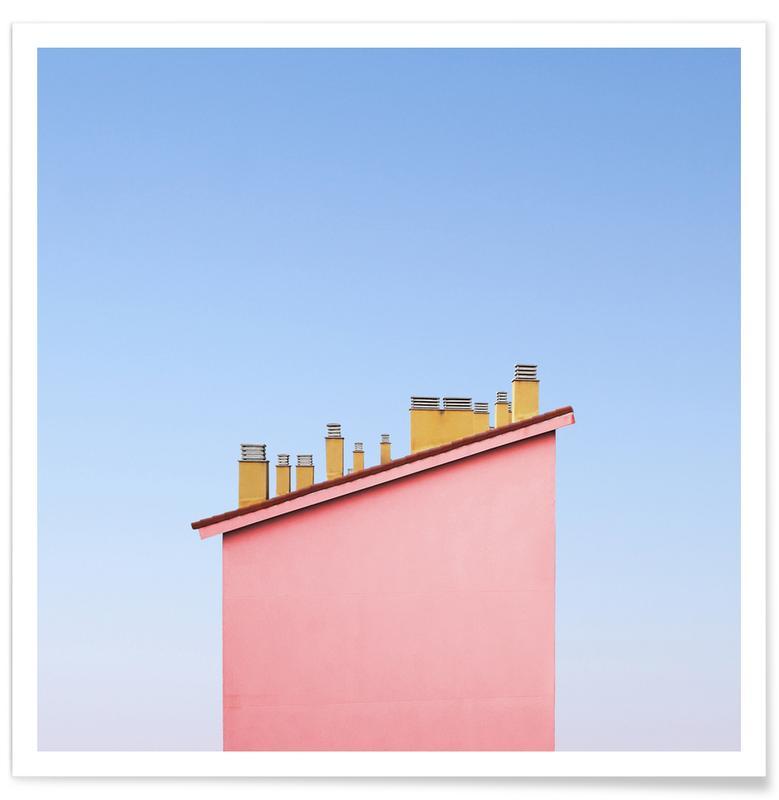 Architekturdetails, Santa's Paradise -Poster
