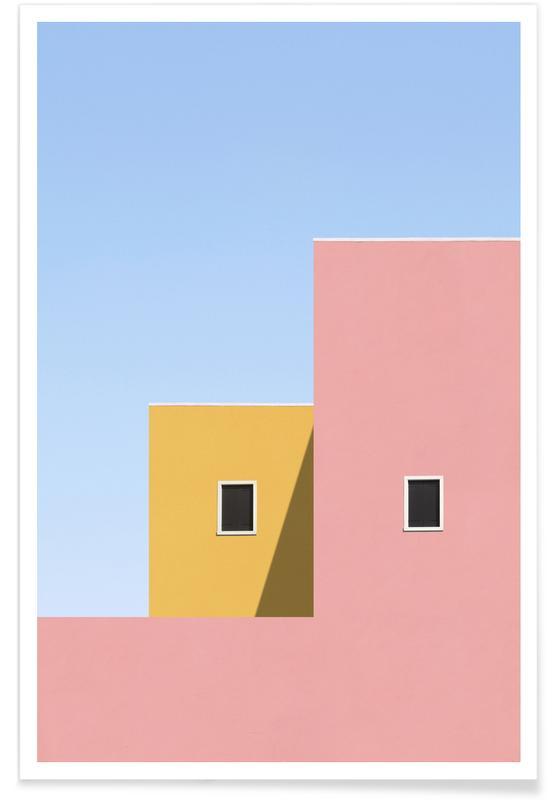 Détails architecturaux, Paysages abstraits, Faceade affiche