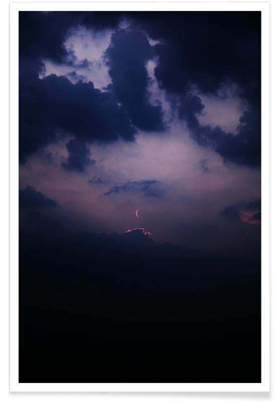 Lucht en wolken, Afterglow poster