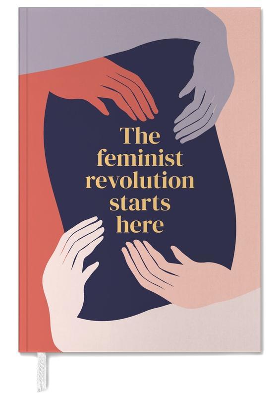 The Feminist Revolution Starts Here II Personal Planner