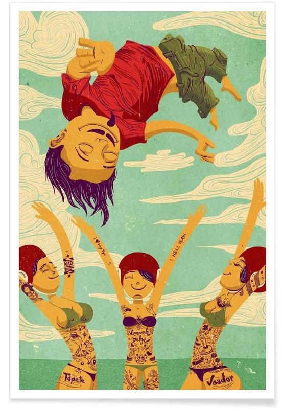 Tapete Voador -Poster
