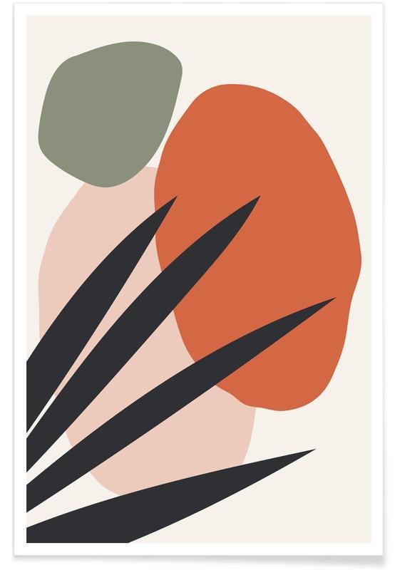 Feuilles & Plantes, Reach affiche
