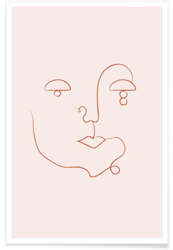 Retratos, Visage póster