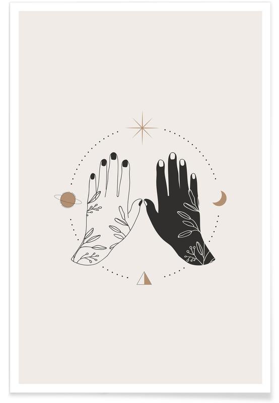 , Open Palms póster