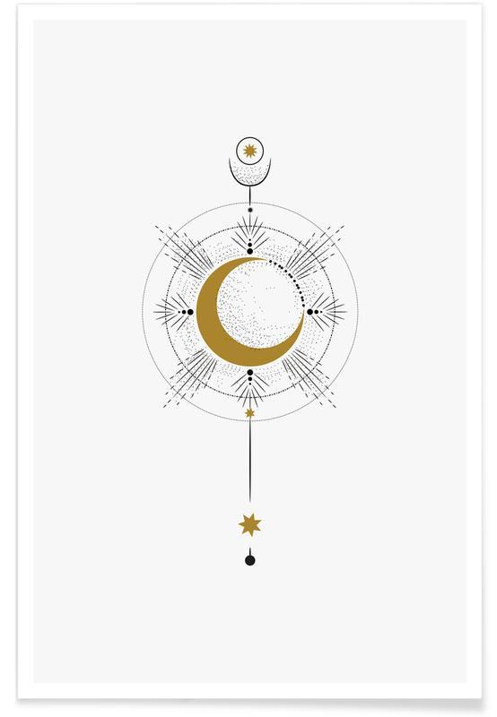 Moon Radius Plakat