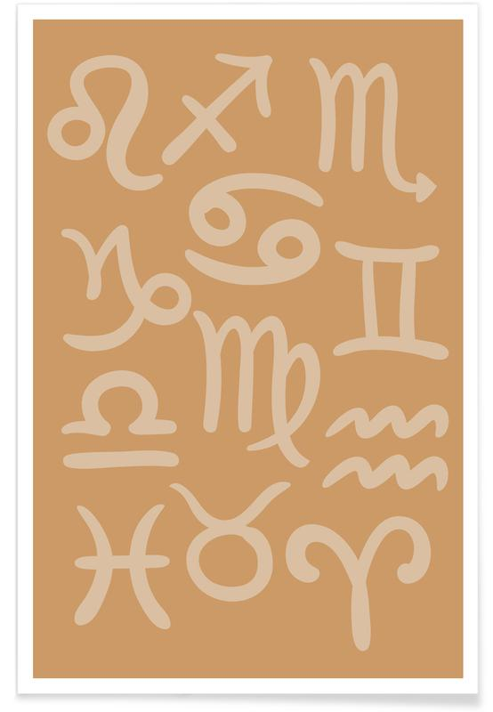 Astrological Signs Poster