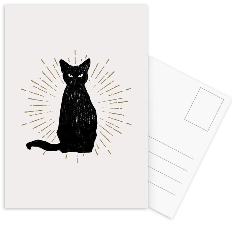 Familiar -Postkartenset