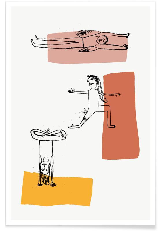 , Yoga II póster