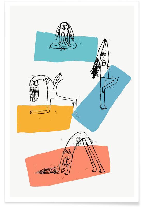 , Yoga Plakat