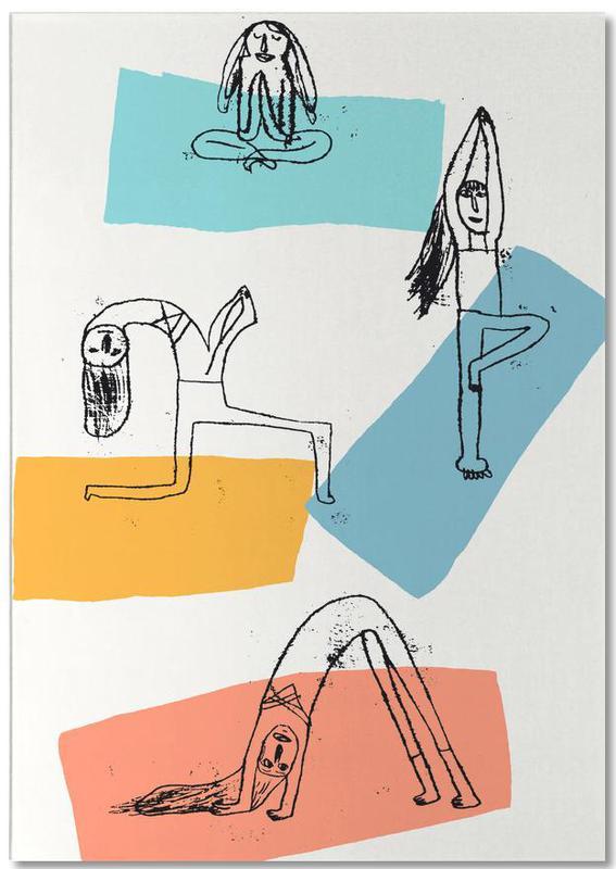 Yoga -Notizblock