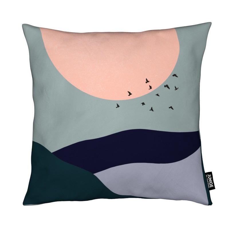 Paysages abstraits, Montagnes, Lune, Tidal coussin