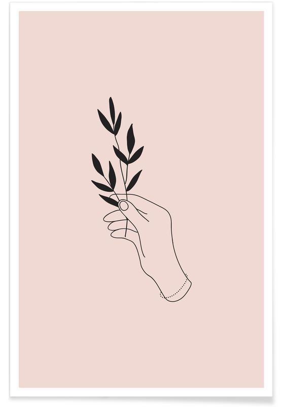 Blade & planter, Wildflower Plakat