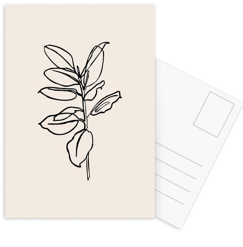 Spring -Postkartenset