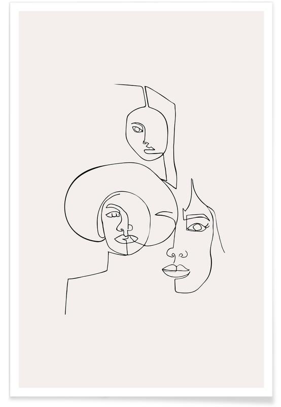 Sort & hvidt, Collective Plakat