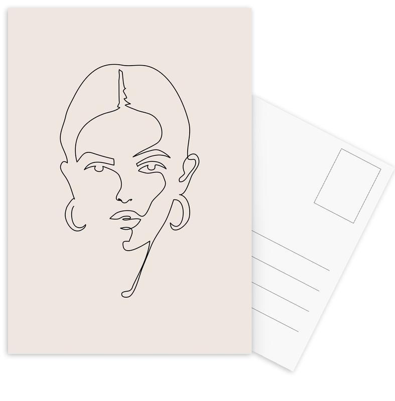Femme II -Postkartenset