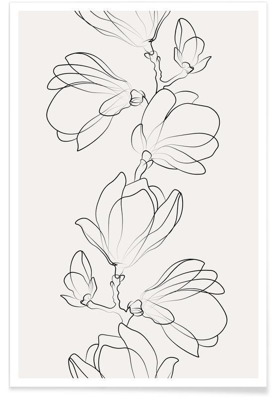 , Botanic Plakat