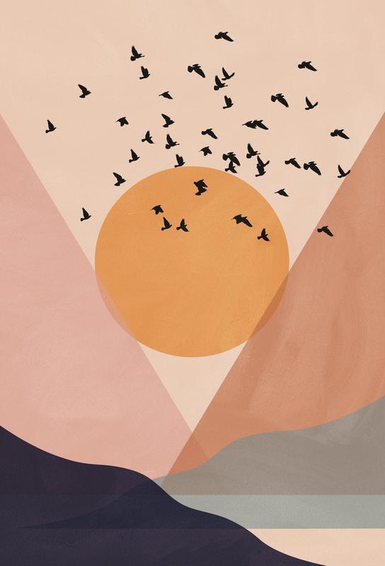 Sun Flock -Alubild