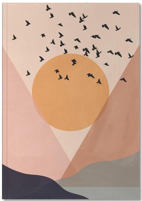 Sun Flock Notebook
