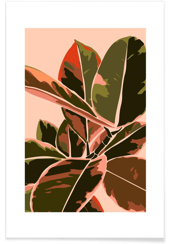 Blätter & Pflanzen, Plant IV -Poster