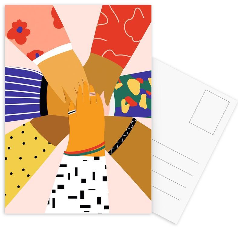 All Hands -Postkartenset