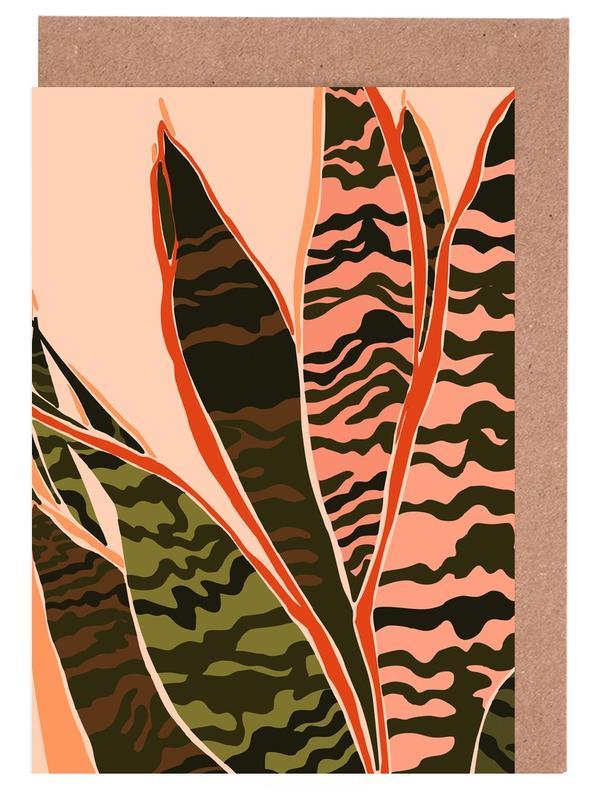Plant II -Grußkarten-Set