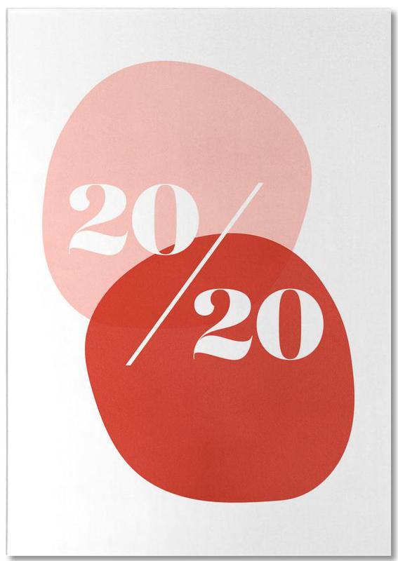 20/20 Pink -Notizblock