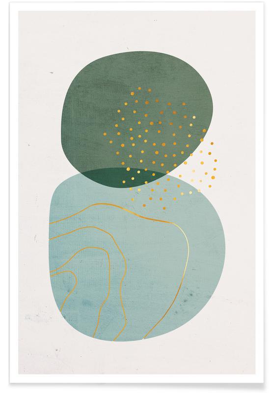 Foam-Gold -Poster
