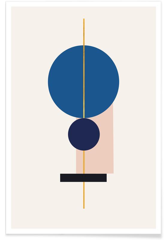 , Equilibrium Guld Plakat