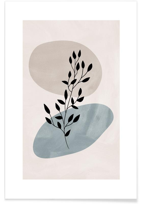 Feuilles & Plantes, Lake Reed affiche
