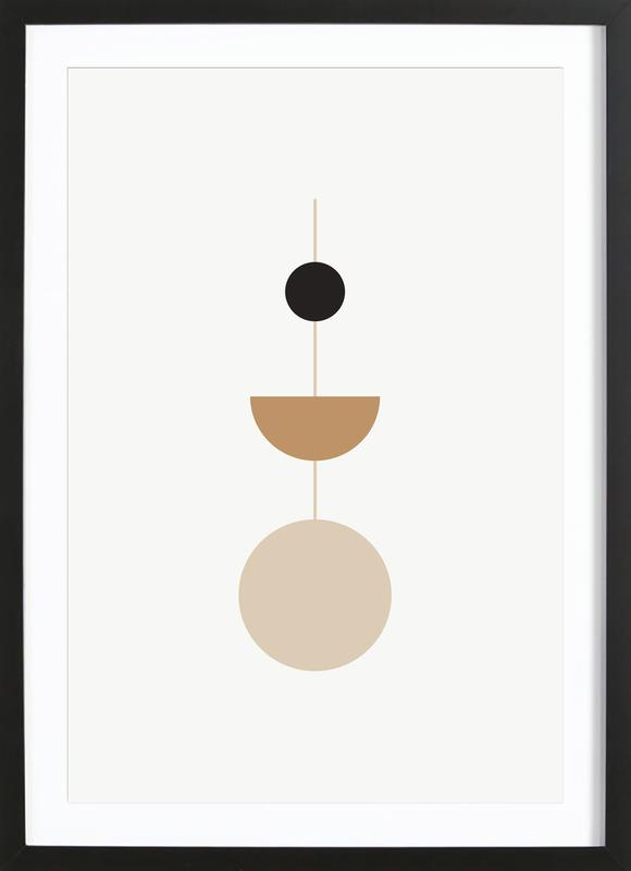 Pendulum -Bild mit Holzrahmen