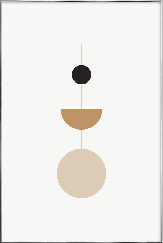 Pendulum Poster i aluminiumram