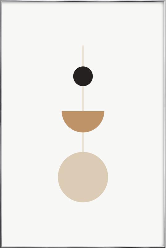 Pendulum poster in aluminium lijst