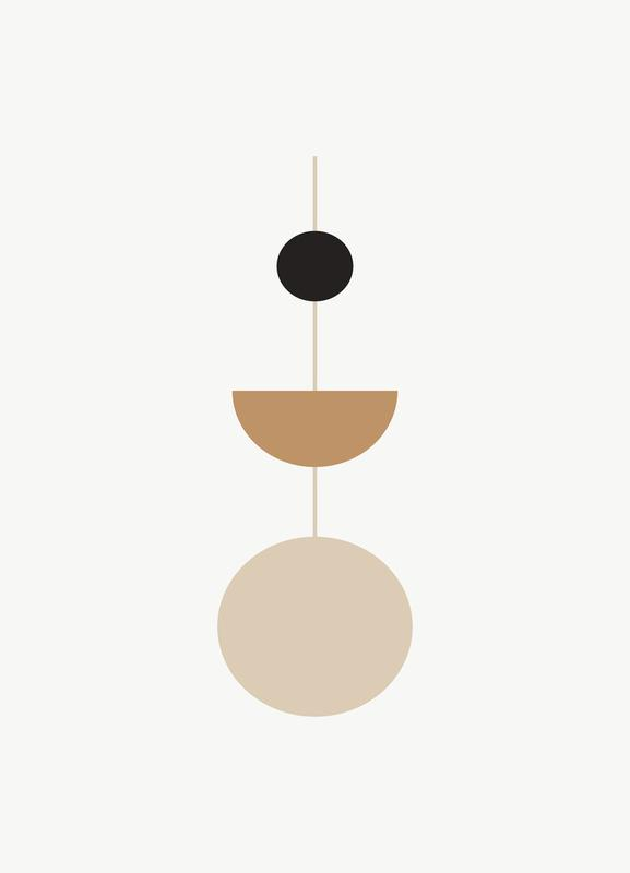 Pendulum Canvastavla