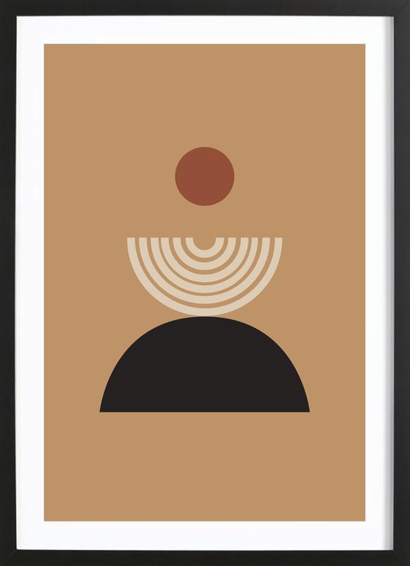 Caramel Poster i träram